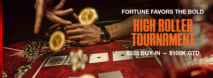 100k High Roller Poker Tournament at Ignition Casino