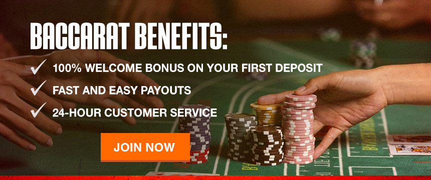 Play Online Baccarat for Real Money at Ignition Casino