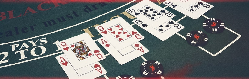 Learn how to split pairs in blackjack at Ignition Casino